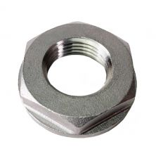 """1/2"""" Stainless Steel NPT Lock Nut with Large Flange"""