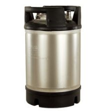 New Ball Lock Keg - 2.5 Gallon - Dual Rubber Handle Top