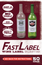 Fast Label 750 Wine Botles