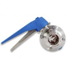 """1.5"""" Tri Clamp Butterfly Valve"""