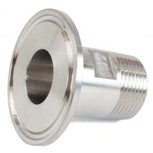 "1.5"" Tri Clamp to 3/4"" Male NPT"