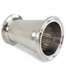 "2"" to 1.5"" Tri Clamp (TC) Concentric Reducer"