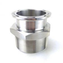 "2"" Tri Clamp x 2"" Male NPT"