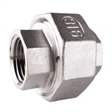 "1/2"" NPT 304 Stainless Steel Union"