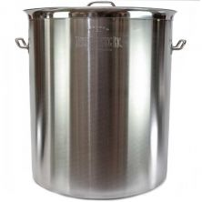 50 Gallon Tri Ply Bottom Brew Kettle