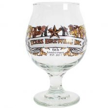 6th Anniversary Belgian Beer Glass