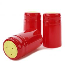 Gloss Red PVC Shrink Cap