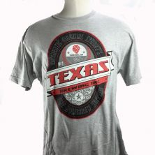 Gray Beer Label T-Shirt