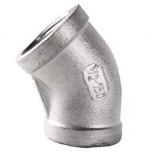 Stainless Steel 45 degree Elbow 1/2 inch female NPT