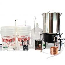 Super Deluxe Equipment Kit - 10 Gallon Kettle - No Ports