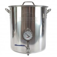 10 Gallon Stainless Steel Brew Kettle Assembly
