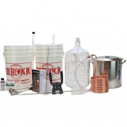 Deluxe Home Brewing Equipment Kit W/ Pot and Chiller