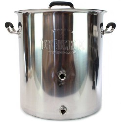 10 Gallon Tri Ply Bottom Welded Kettle