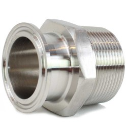 "1.5"" Tri Clamp (TC) x 1.5"" Male NPT"
