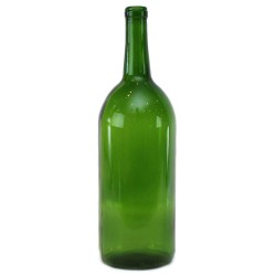 1.5 Liter Green Bordeaux Wine Bottles