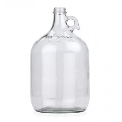 Clear Glass Jug - 1 gallon