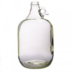 Flint Glass Jug - 1/2 gallon
