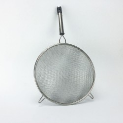 "Stainless Steel 8"" Strainer"