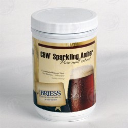 Briess Sparkling Amber LME (Liquid Malt Extract) - 3.3 lbs. Jar