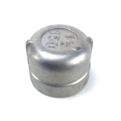 Stainless Steel Cap - 1/2""