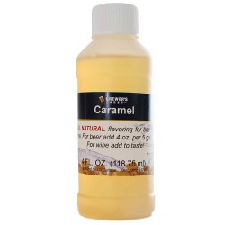 Caramel Flavoring Extract 4 oz.