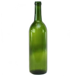 Green Wine Bottles 750 ml