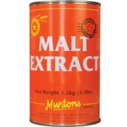 Muntons Plain Light Liquid Malt Extract (LME) 3.3lbs