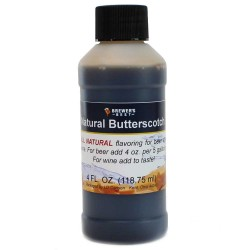 Natural Butterscotch Flavoring Extract 4 oz.