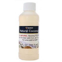 Coconut Flavoring Extract 4 oz.