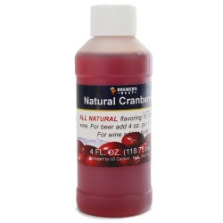 Cranberry Flavoring Extract 4 oz.