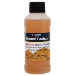 Natural Graham Flavoring Extract 4 oz.