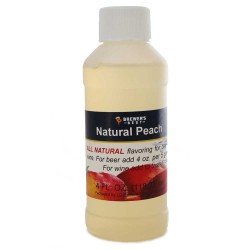 Peach Flavoring Extract 4 oz.