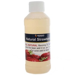 Strawberry Flavoring Extract 4 oz.