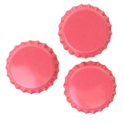 Pink Bottle Caps