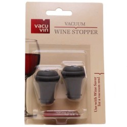 Vacu Vin Wine Saver Replacement Stoppers - 2 Pack