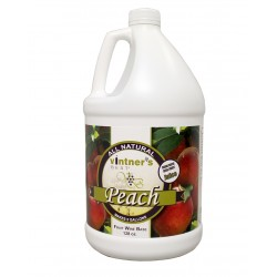 VINTNER'S BEST PEACH FRUIT WINE BASE - 128 oz.