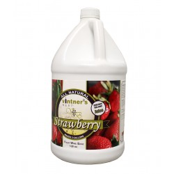 VINTNER'S BEST STRAWBERRY FRUIT WINE BASE - 128 oz.