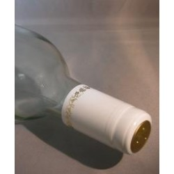 White/Gold Grapes PVC Shrink Cap