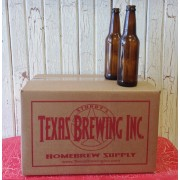 12 Ounce Beer Bottles Case of 24 - Texas Brewing Inc.