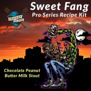Panther Island Brewing Sweet Fang - Chocolate Peanut Butter Milk Stout - Extract Beer Recipe Kit