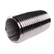 Stainless Nipple  1/2 x1.5 Long