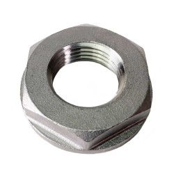"1/2"" Stainless Steel NPT Lock Nut with Large Flange"