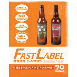 Fast Label 12 Oz. Beer