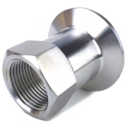 "1.5"" Tri Clamp to 3/4"" Female NPT"