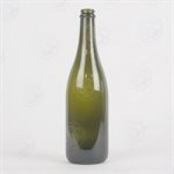 750 ml Champagne Bottles with Full Punt