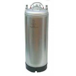 New Ball Lock Keg - 5 Gallon - Single Metal Handle Top