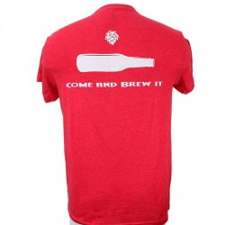 Come and Brew It T-Shirt - Back Red Heather (T-Shirt)