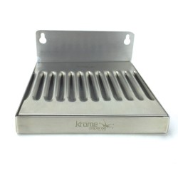 "6"" X 6"" Stainless Steel Drip Tray"