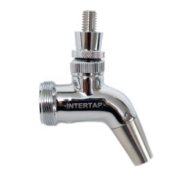 Intertap Forward Sealing Faucet - Stainless Steel