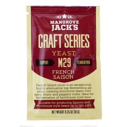 Mangrove Jack French Saison Dry Ale Yeast M29